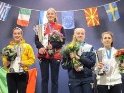 Una ferrarese sul podio europeo della spada under 23 – estense.com – 31 gennaio 2019